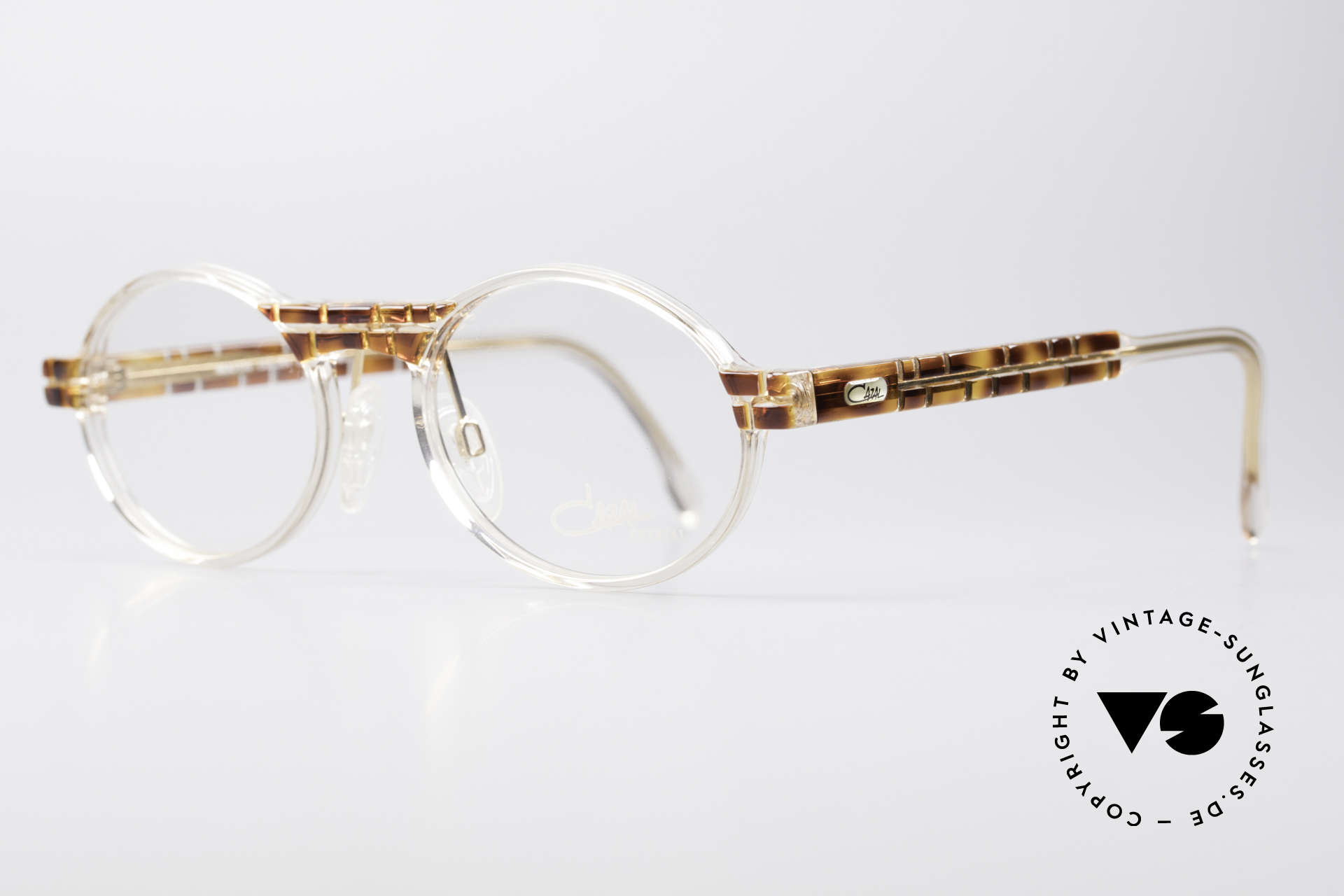 Cazal 510 Crystal Limited Vintage Cazal, special edition with crystal clear frame - truly unique!, Made for Men and Women