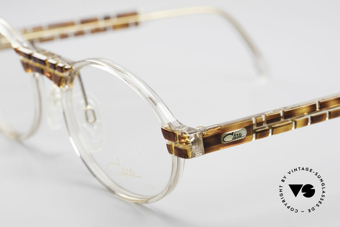 Cazal 510 Crystal Limited Vintage Cazal, fantastic combination of shape, colors and materials, Made for Men and Women
