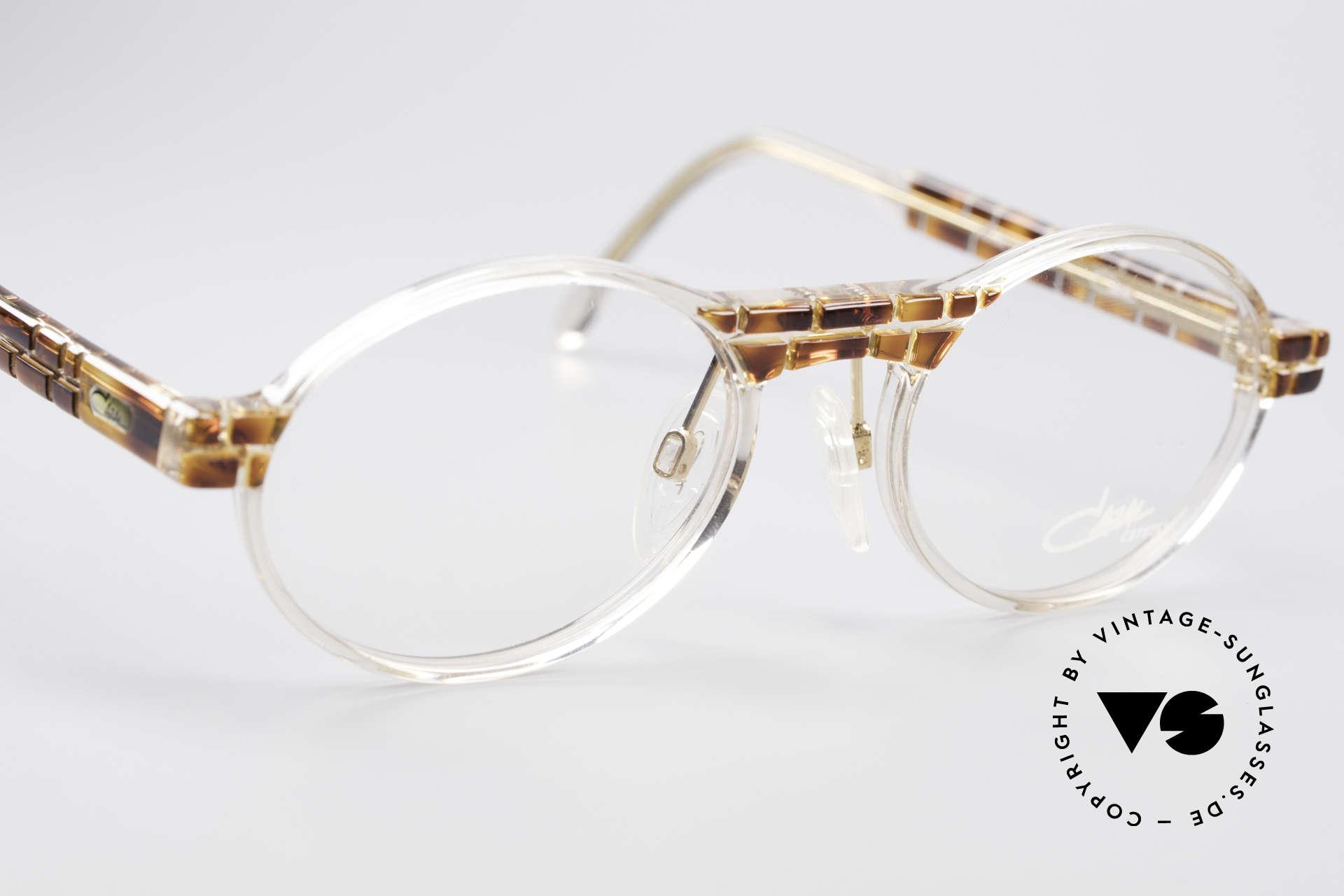 Cazal 510 Crystal Limited Vintage Cazal, unworn (like all our rare vintage Cazal Crystal frames), Made for Men and Women