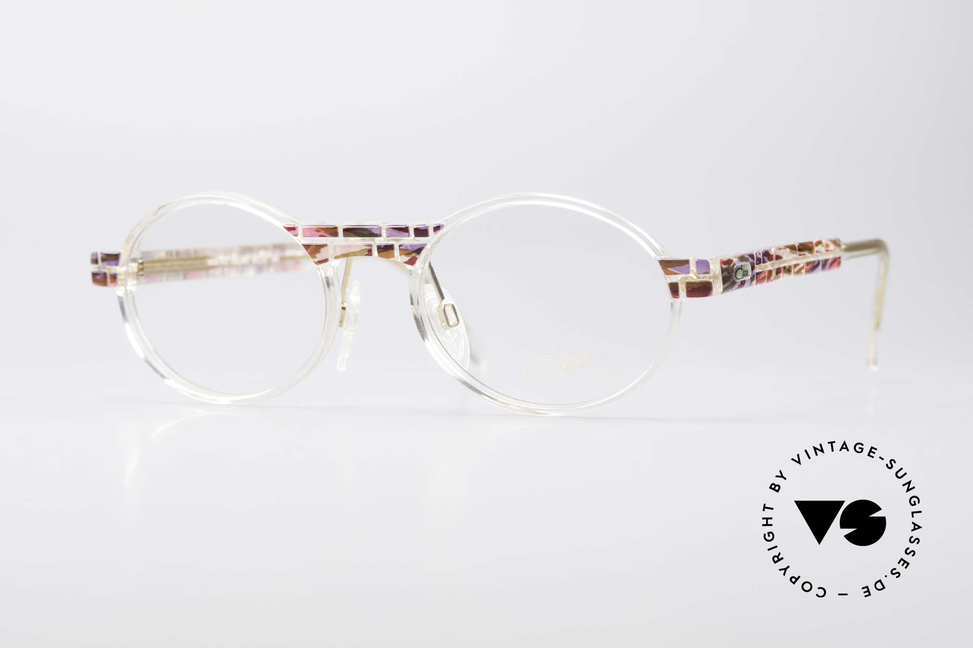 Cazal 510 Crystal Limited Vintage Specs, rare Cazal vintage glasses of the Crystal 500's Series, Made for Women