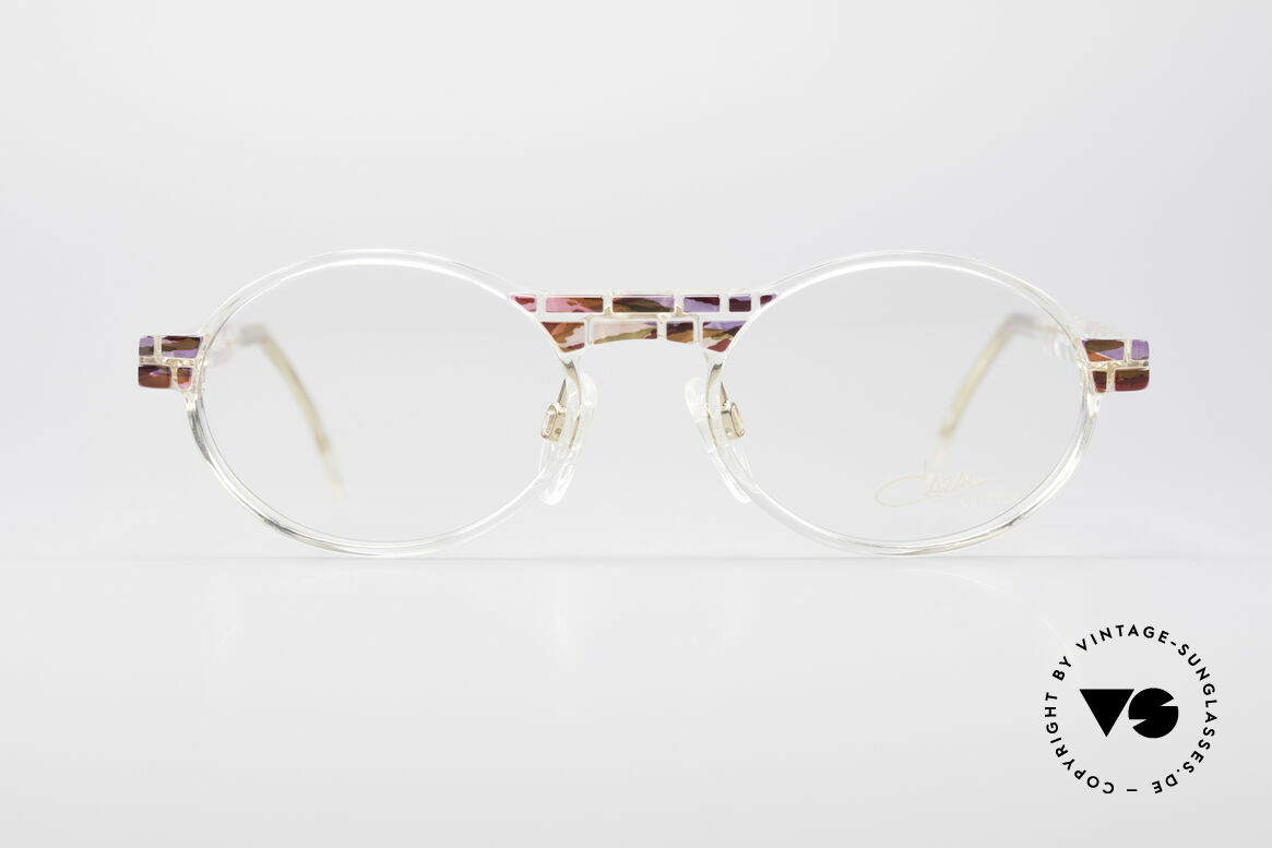 Cazal 510 Crystal Limited Vintage Specs, made in the 90's as limited-lot production in Germany, Made for Women