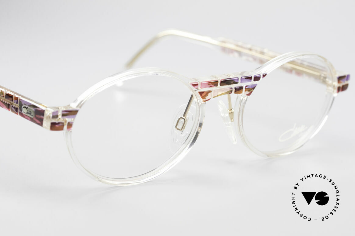 Cazal 510 Crystal Limited Vintage Specs, unworn (like all our rare vintage Cazal Crystal frames), Made for Women