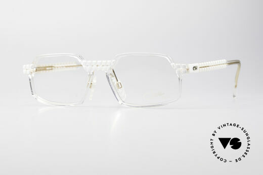 Cazal 511 Crystal Limited Edition Glasses Details