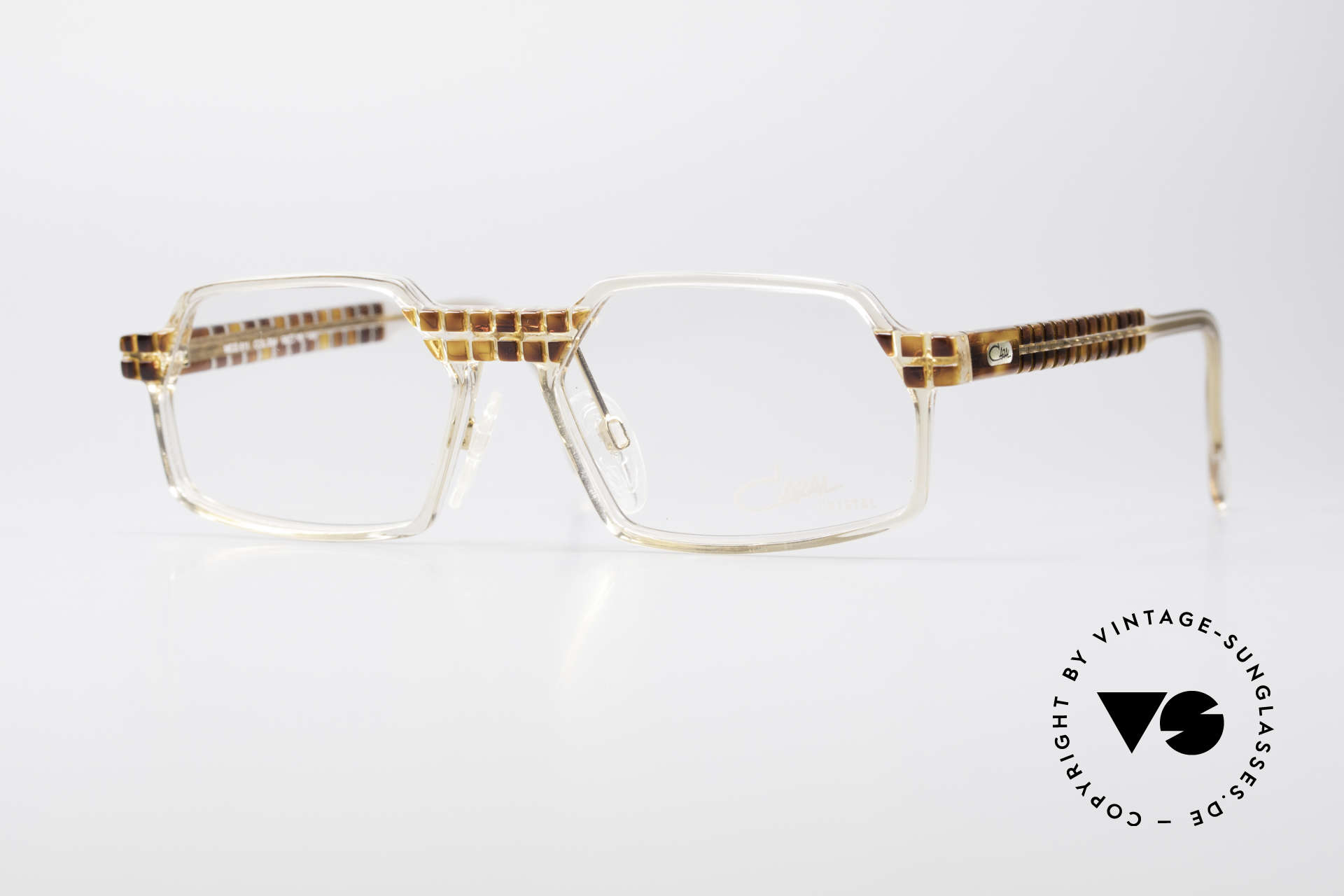 Cazal 511 Crystal Limited Edition Cazal, rare Cazal vintage glasses of the Crystal 500's Series, Made for Men and Women