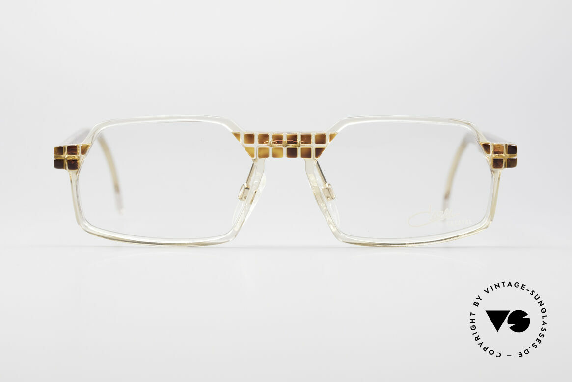 Cazal 511 Crystal Limited Edition Cazal, made in the 90's as limited-lot production in Germany, Made for Men and Women