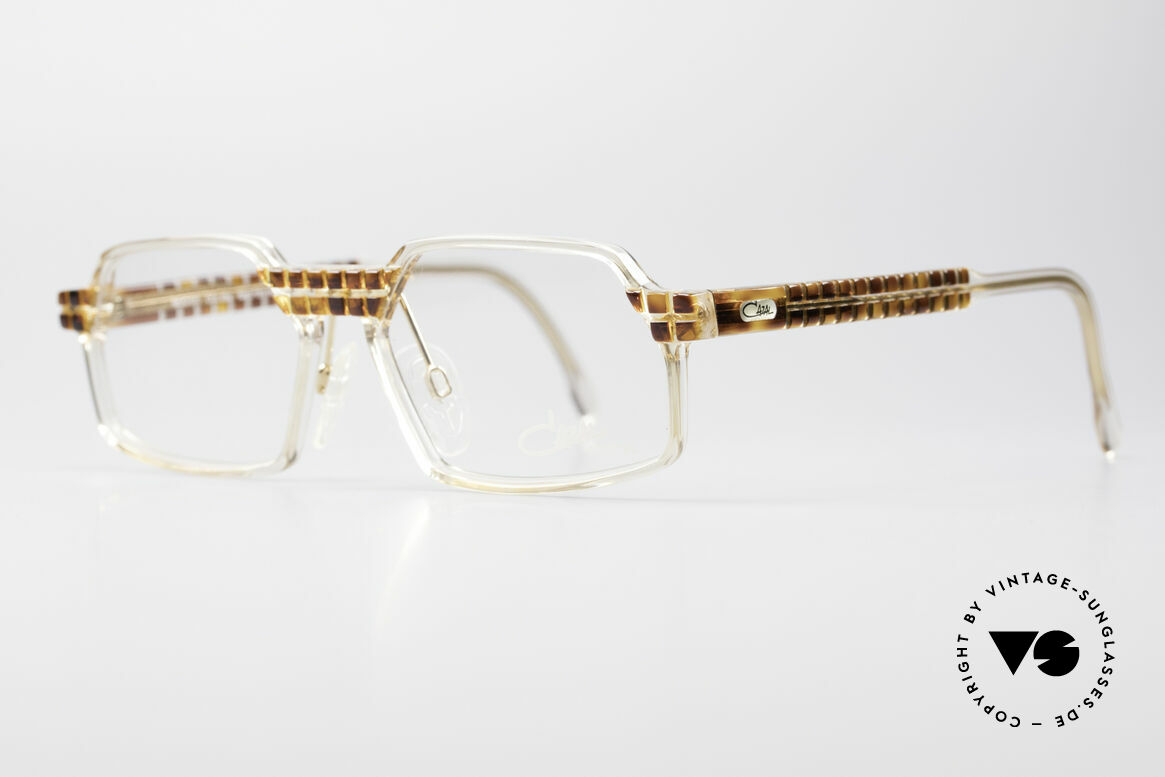 Cazal 511 Crystal Limited Edition Cazal, special edition with crystal clear frame - truly unique!, Made for Men and Women