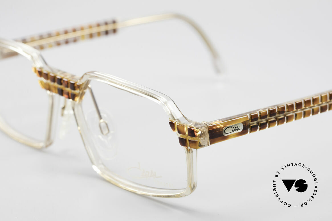 Cazal 511 Crystal Limited Edition Cazal, fantastic combination of shape, colors and materials, Made for Men and Women