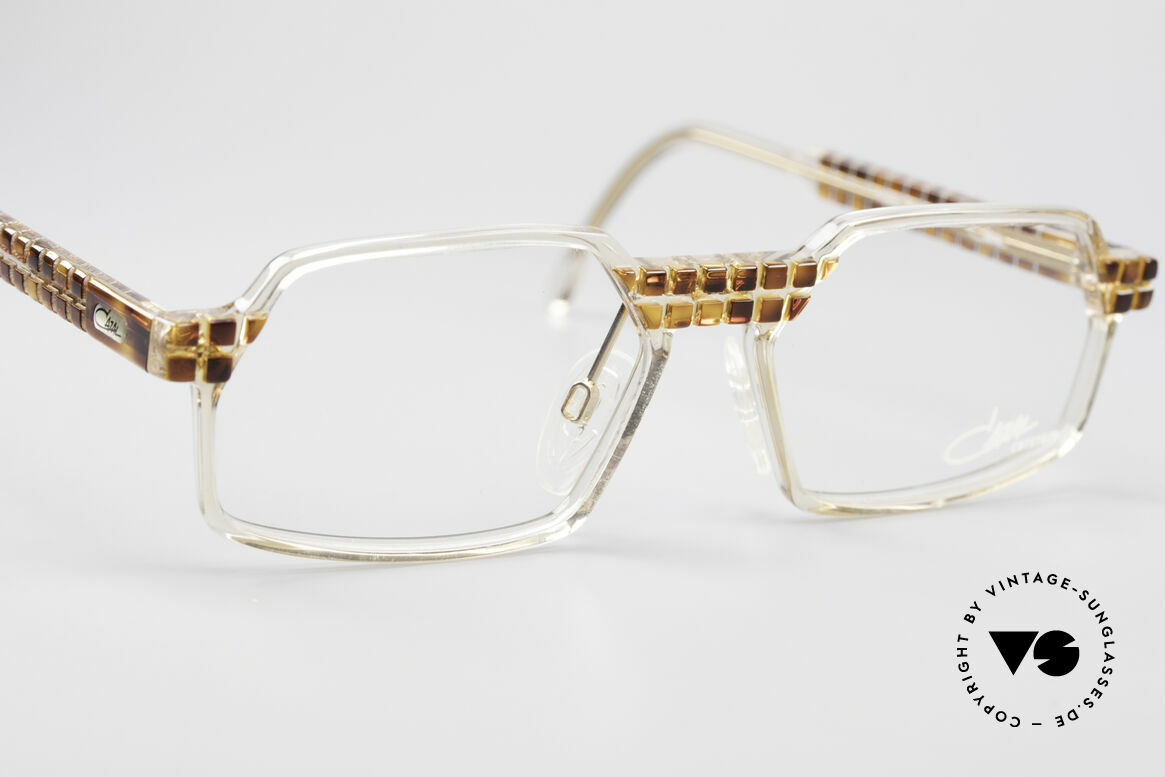 Cazal 511 Crystal Limited Edition Cazal, unworn (like all our rare vintage Cazal Crystal frames), Made for Men and Women