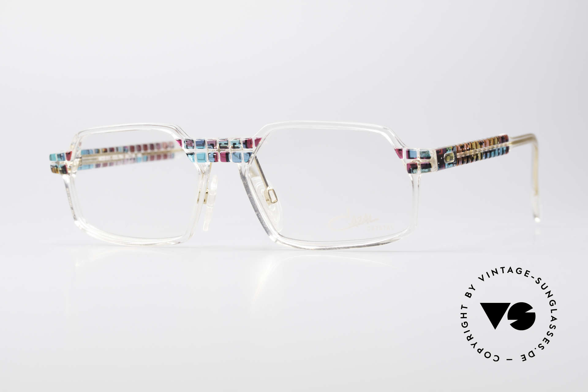 Cazal 511 - Crystal Limited Vintage Cazal, rare Cazal vintage glasses of the Crystal 500's Series, Made for Men and Women