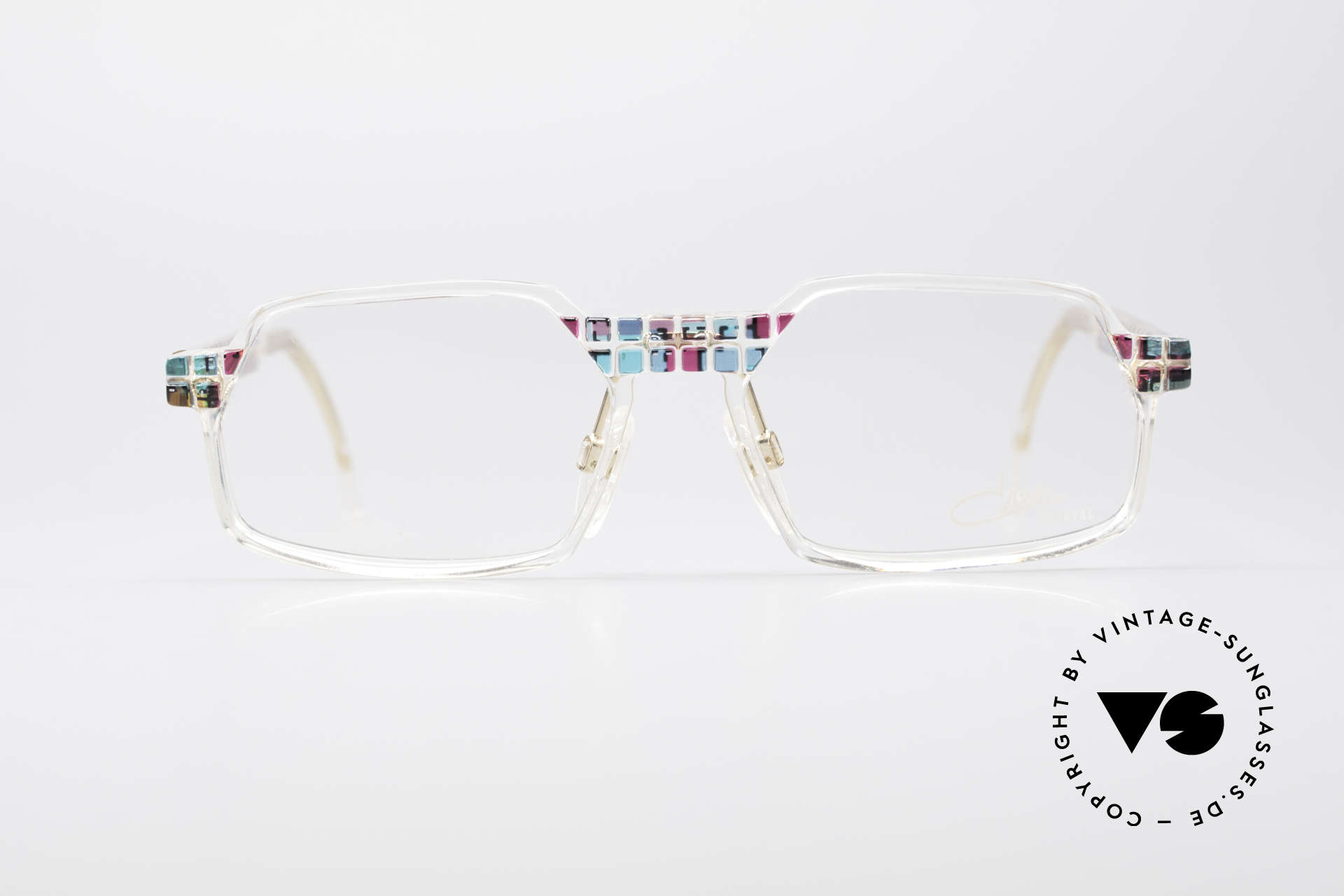 Cazal 511 - Crystal Limited Vintage Cazal, made in the 90's as limited-lot production in Germany, Made for Men and Women