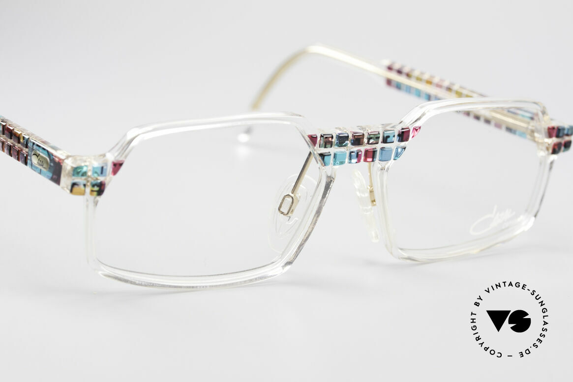 Cazal 511 - Crystal Limited Vintage Cazal, unworn (like all our rare vintage Cazal Crystal frames), Made for Men and Women