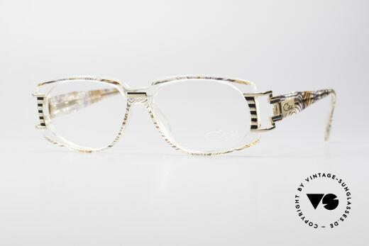 Cazal 372 Rare Hip Hop Vintage Glasses Details