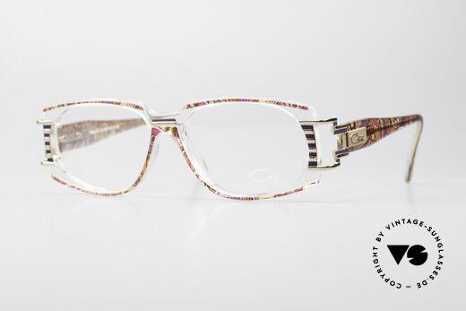 Cazal 372 Rare HipHop Vintage Eyeglasses Details