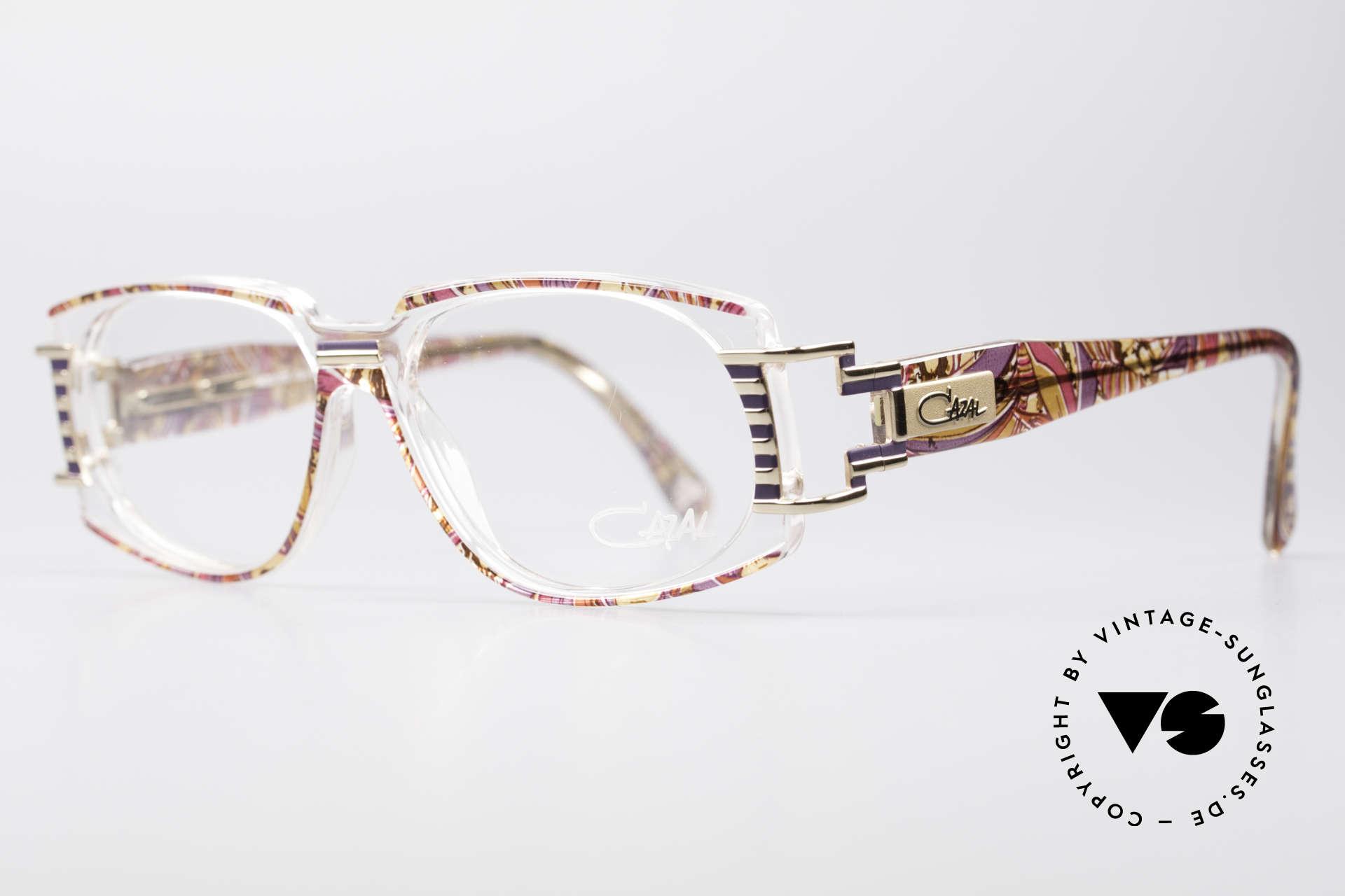 Cazal 372 Rare HipHop Vintage Eyeglasses, interesting & distinctive at the same time; true eye-catcher, Made for Men and Women