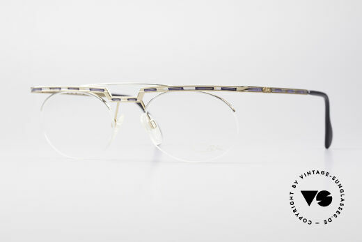 Cazal 758 Original 90s No Retro Glasses Details