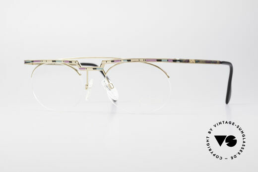Cazal 758 Original Glasses No Retro Frame Details