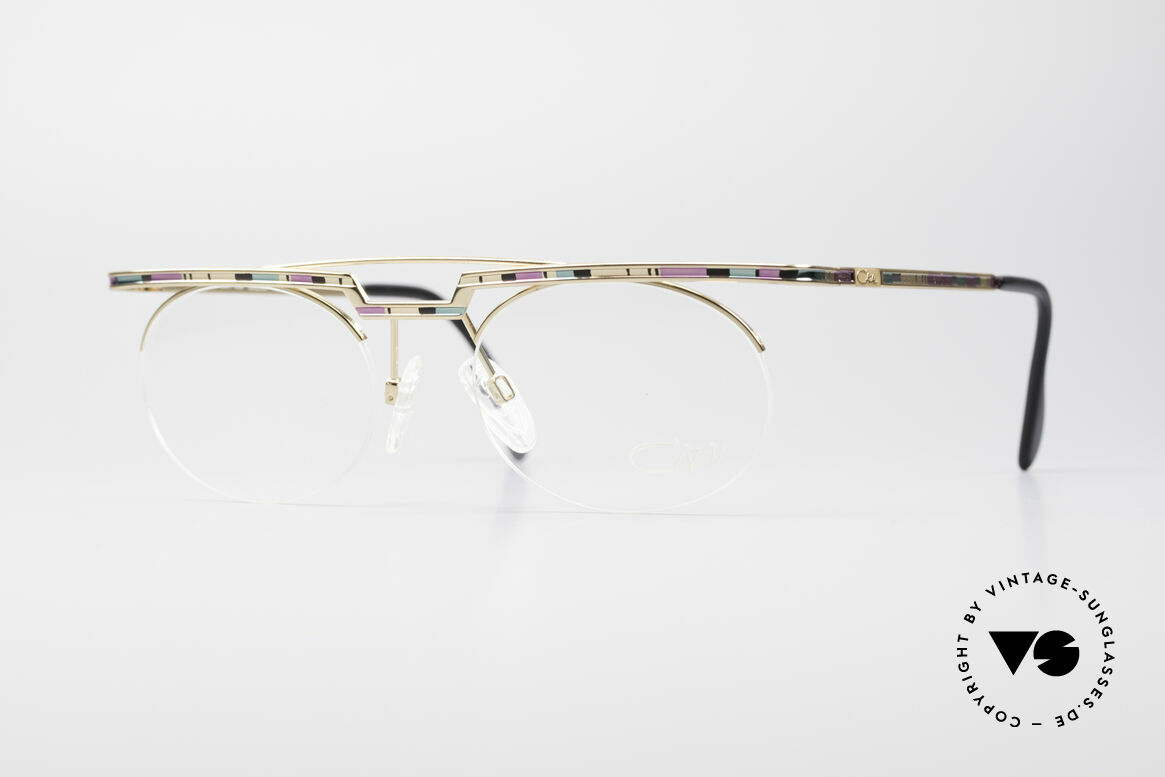 Cazal 758 Original Glasses No Retro Frame