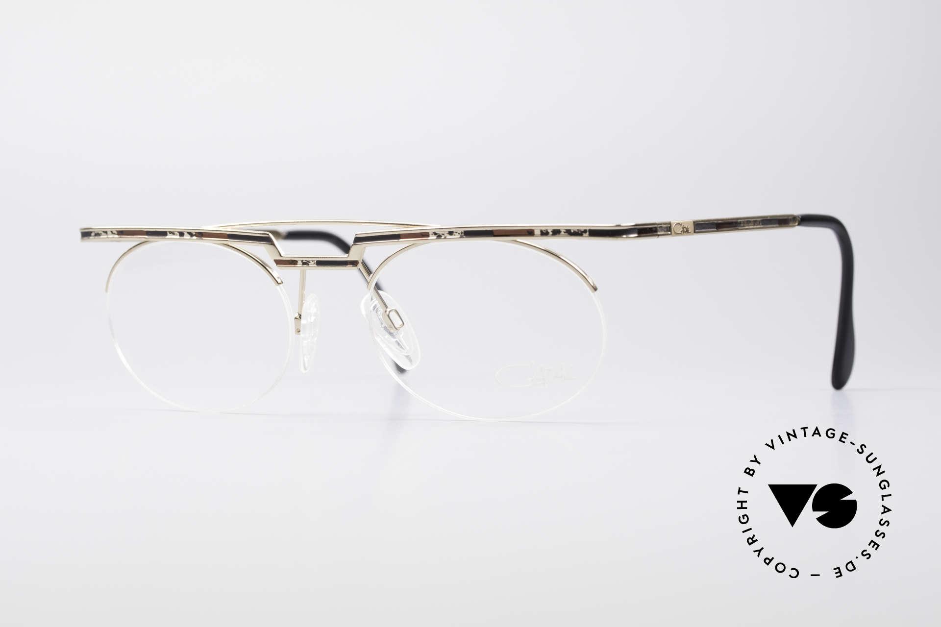 Cazal 758 Original 90s Vintage Glasses, interesting Cazal vintage eyeglasses-frame from 1997/98, Made for Men and Women