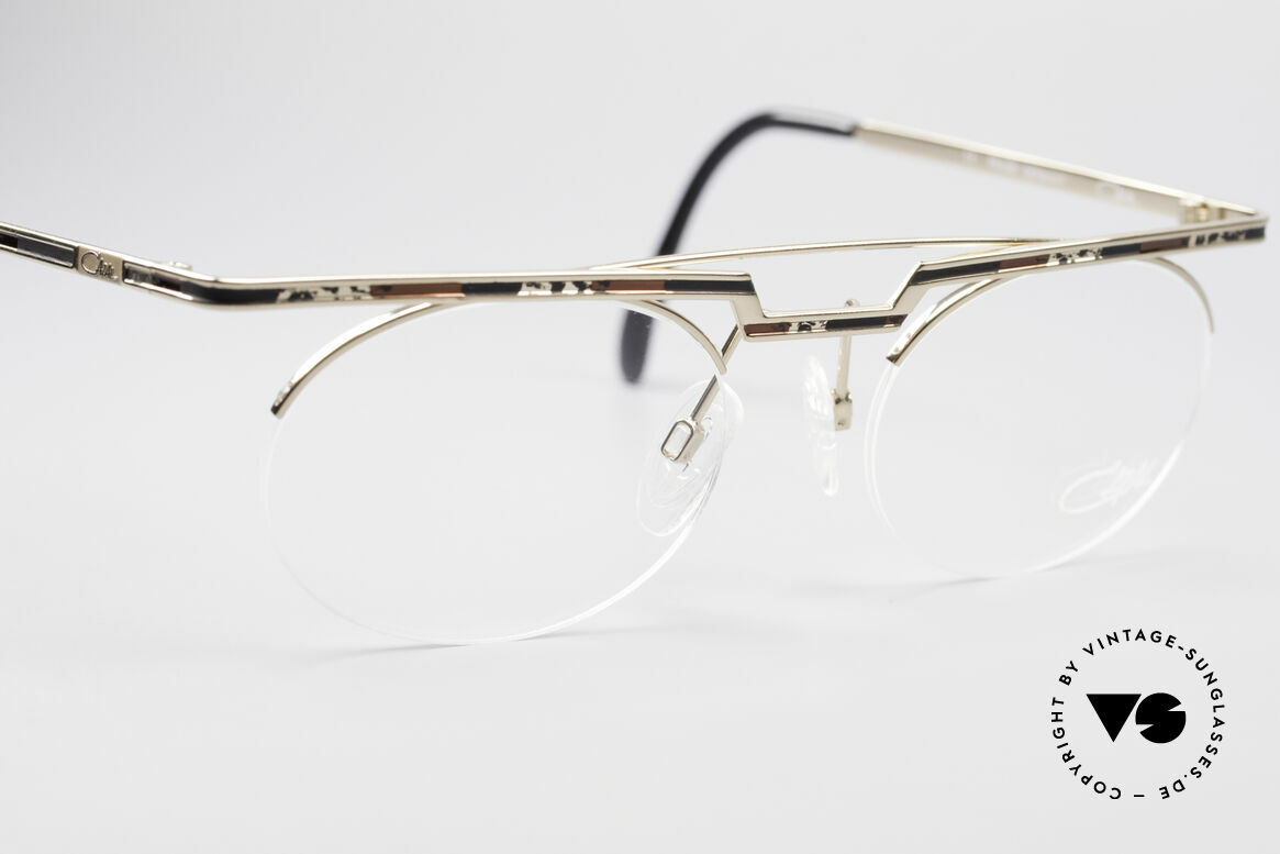Cazal 758 Original 90s Vintage Glasses, tangible high-end craftsmanship (frame made in Germany), Made for Men and Women