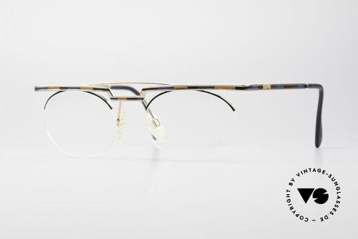Cazal 758 Original 90s Vintage Eyeglasses Details