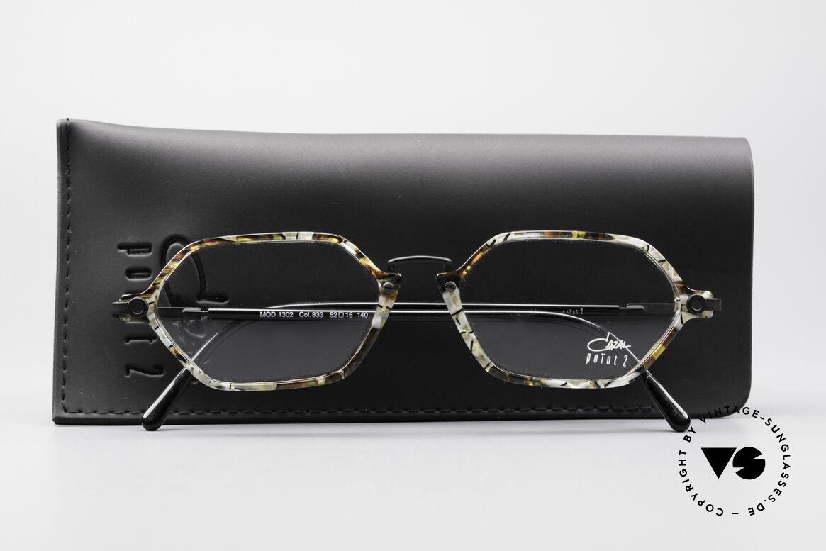 Cazal 1302 - Point 2 Octagonal 90's Eyeglass-Frame