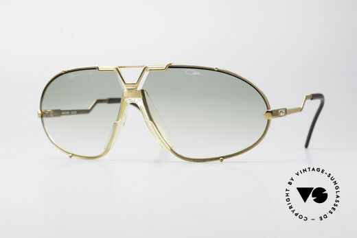 Cazal 906 Anthony Quinn Movie Shades Details