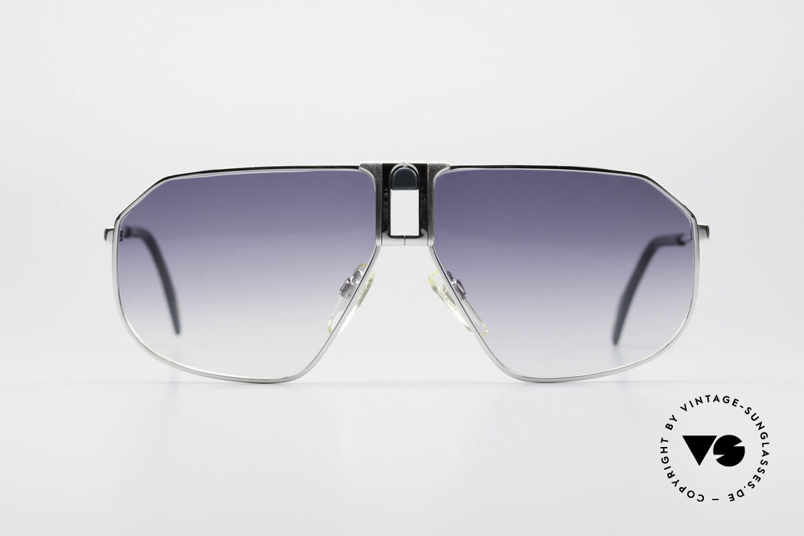 Longines 0153 Large Vintage Men's Sunglasses, precious frame with spring hinges (1st class comfort), Made for Men