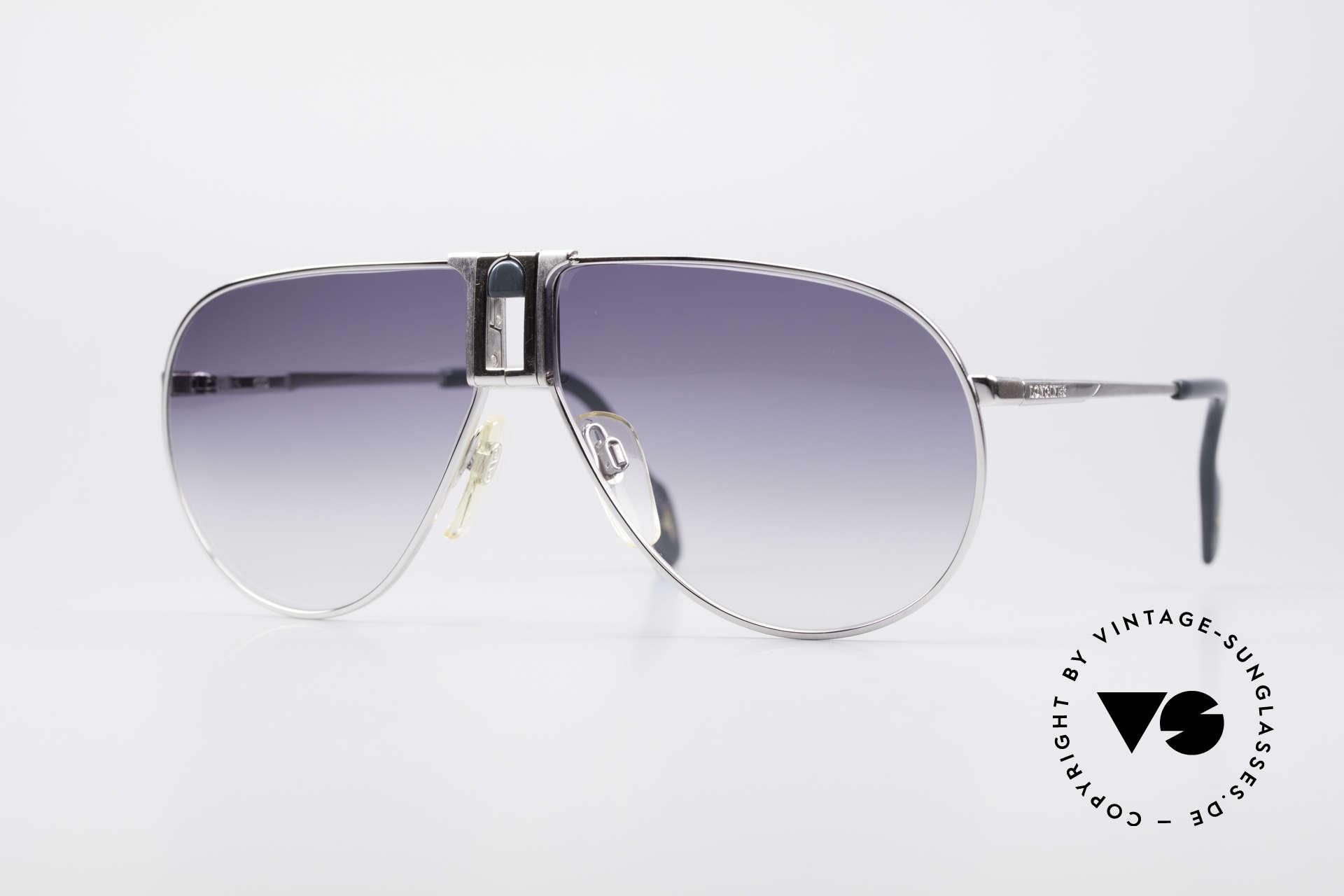 Longines 0154 Large 80's Aviator Sunglasses, high-end VINTAGE designer sunglasses by LONGINES, Made for Men