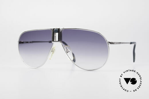 Longines 0154 Large 80's Aviator Sunglasses Details