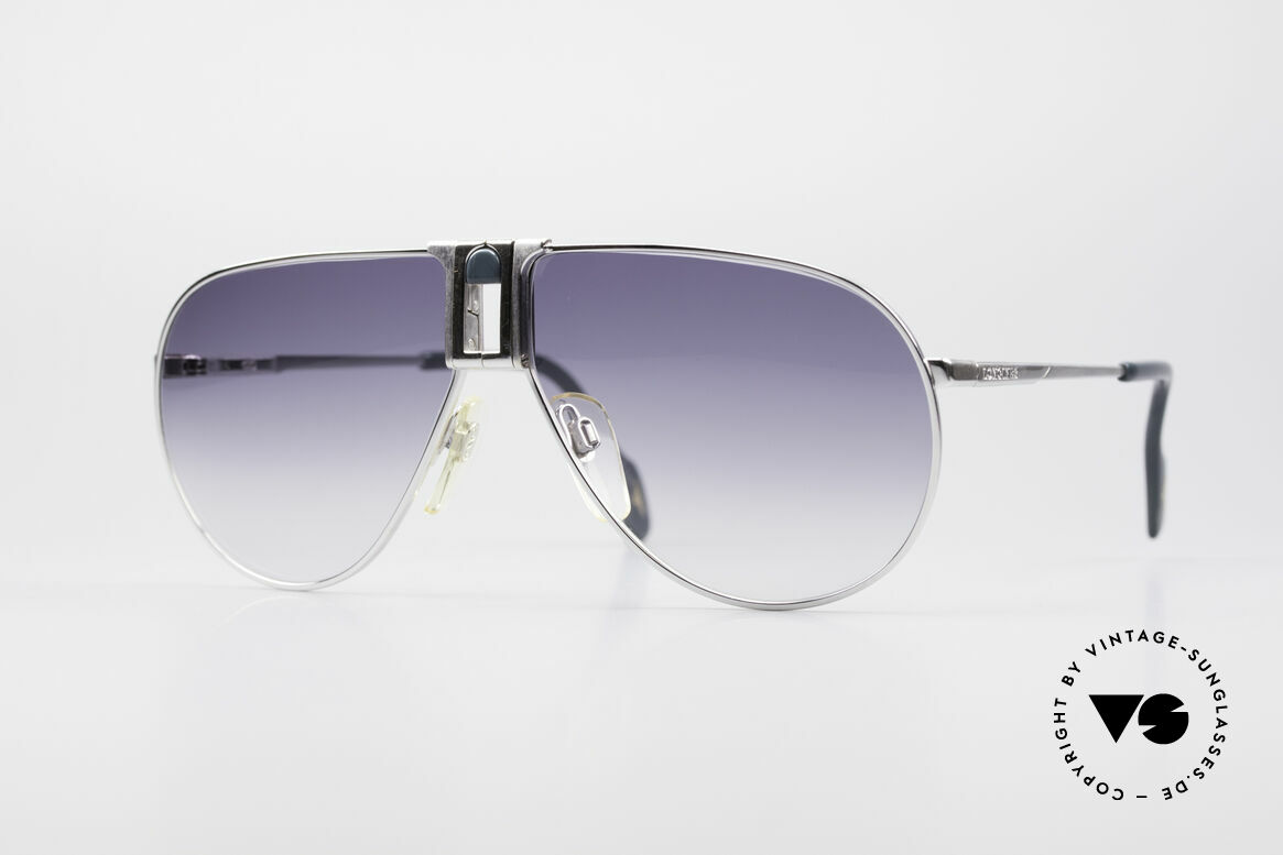 Longines 0154 Large 80's Aviator Sunglasses, high-end VINTAGE designer sunglasses by LONGINES, Made for Men