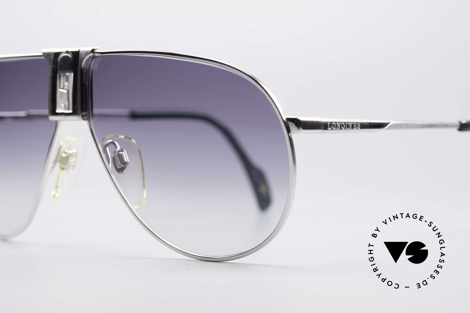 Longines 0154 Large 80's Aviator Sunglasses, luxury designer shades for gentlemen; pure lifestyle!, Made for Men
