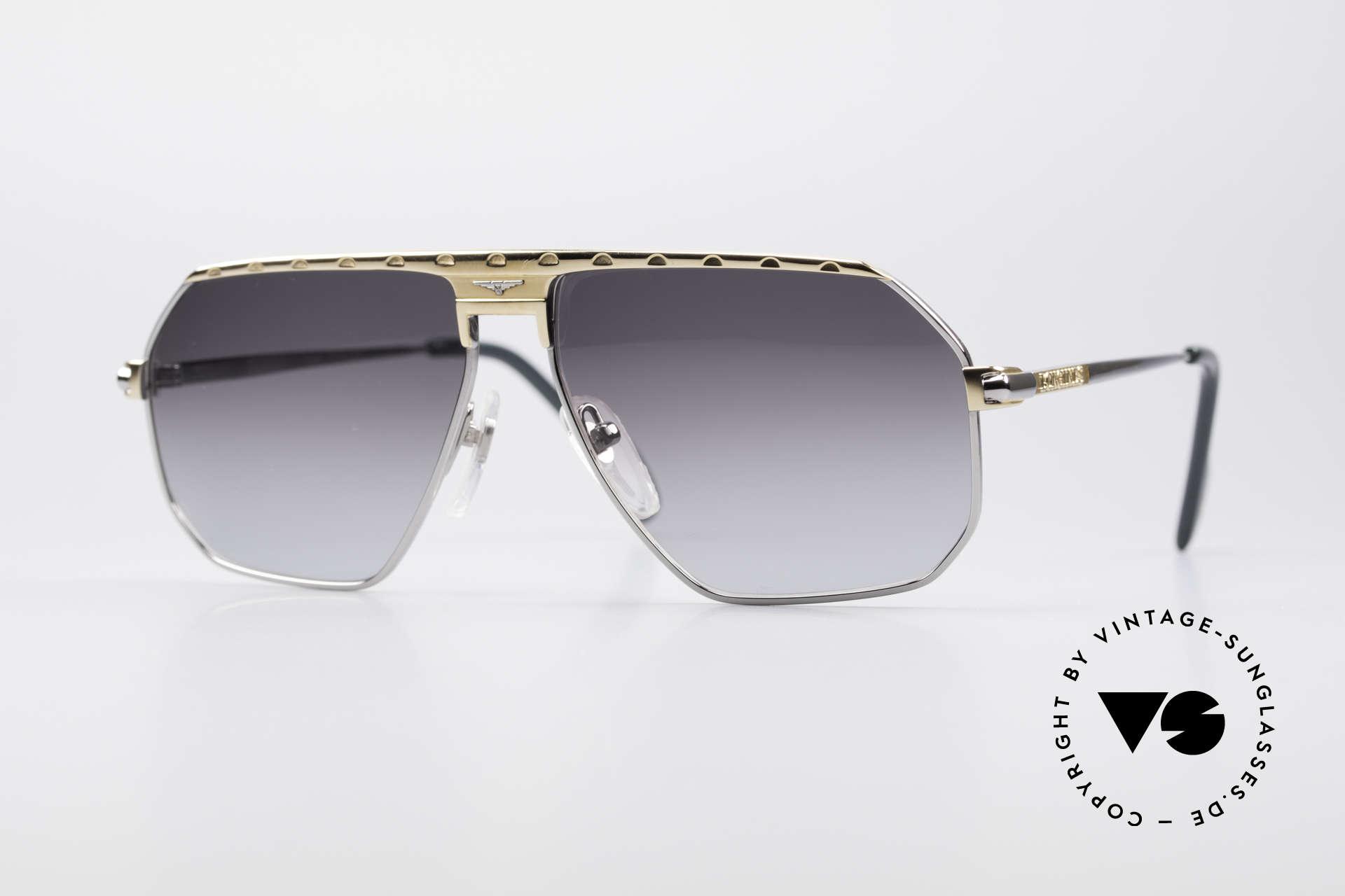 Longines 0152 Rare 80's Titanium Sunglasses, premium vintage 80's designer shades by Longines, Made for Men