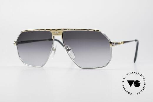 Longines 0152 Rare 80's Titanium Sunglasses Details