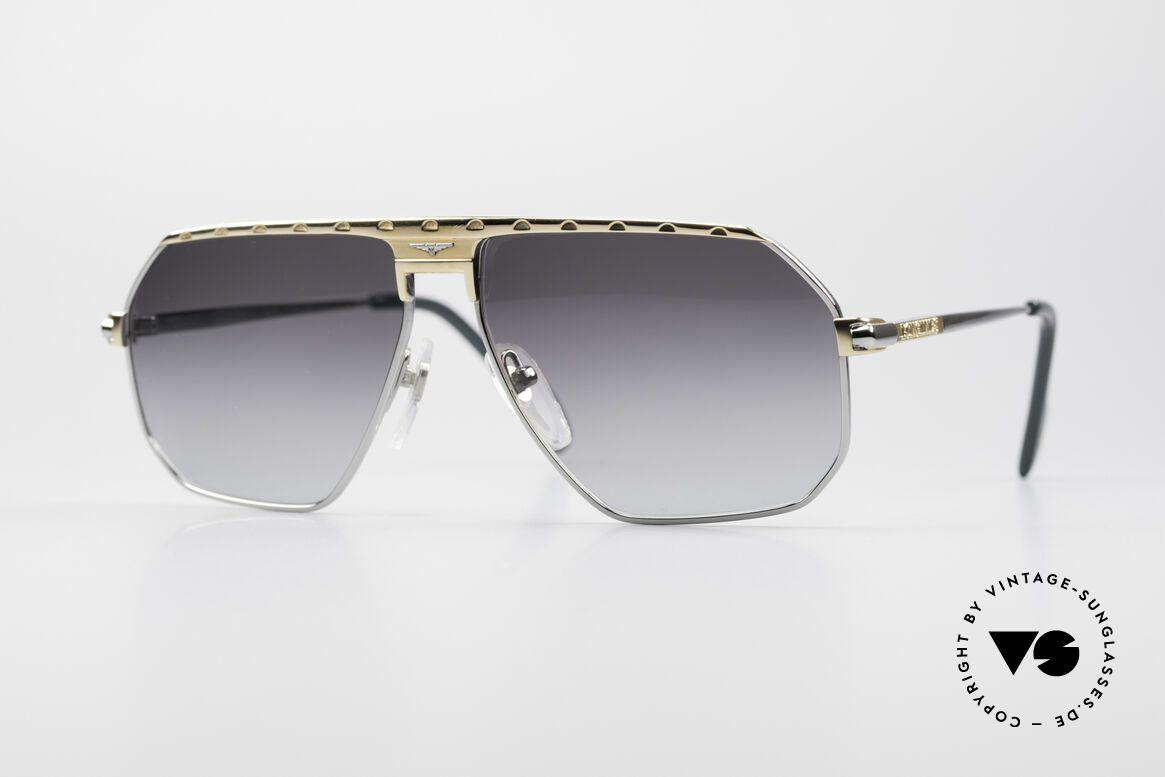 Longines 0152 Rare 80's Titanium Sunglasses, premium vintage 80's designer shades by Longines, Made for Men