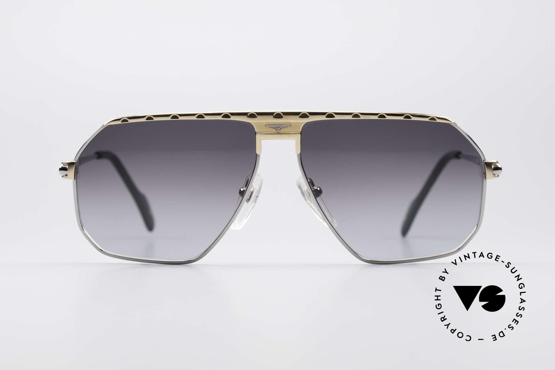 Longines 0152 Rare 80's Titanium Sunglasses, high-class craftsmanship & very masculine design, Made for Men
