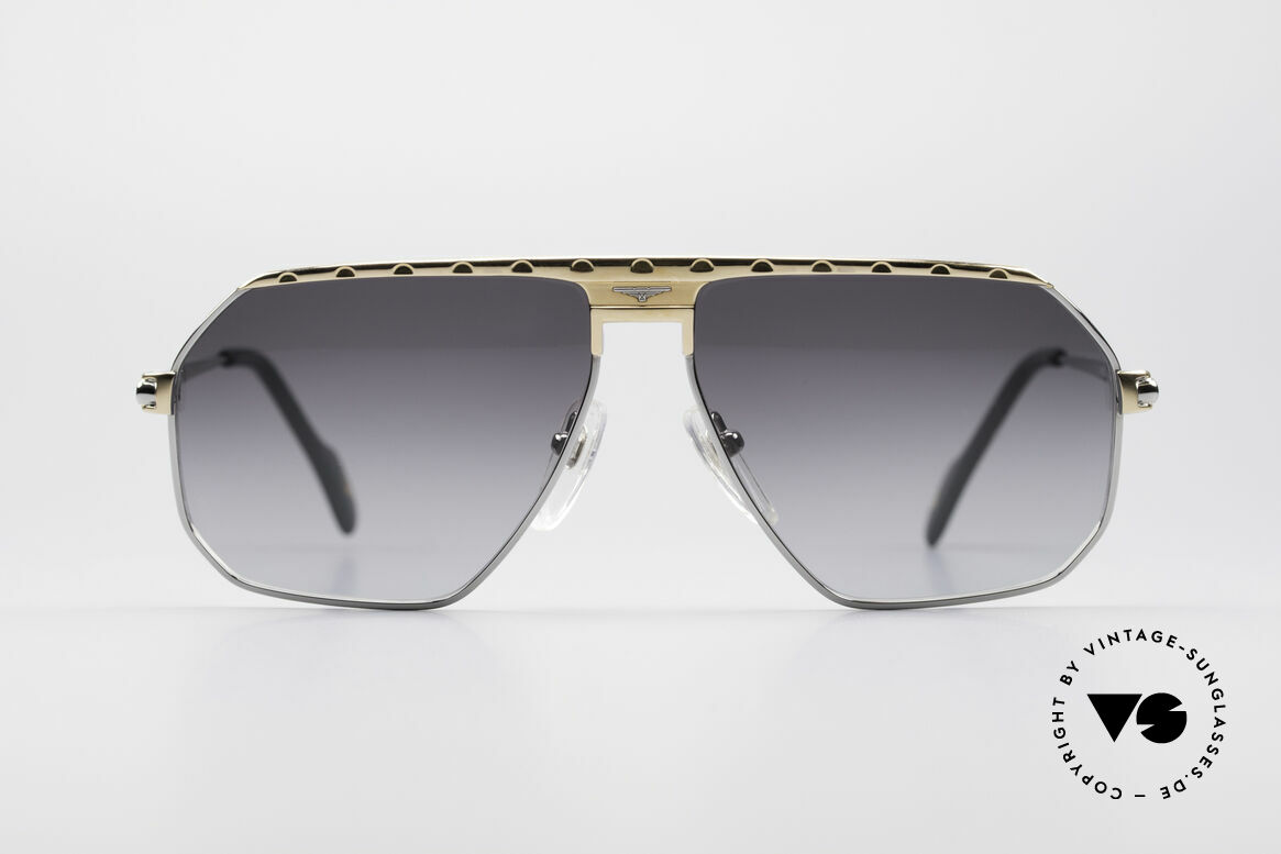 Longines 0152 Rare 80's Titanium Sunglasses, high-class craftsmanship & very masculine design, Made for Men