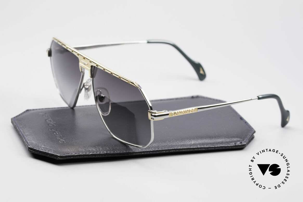 Longines 0152 Rare 80's Titanium Sunglasses, noble frame coloring (gentlemen like); truly vintage, Made for Men