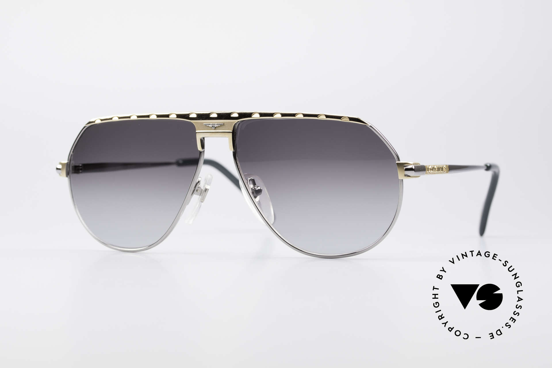 Longines 0151 Rare Titanium 80's Sunglasses, premium vintage 80's designer shades by Longines, Made for Men
