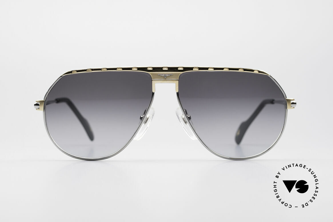 Longines 0151 Rare Titanium 80's Sunglasses, high-class craftsmanship & very masculine design, Made for Men
