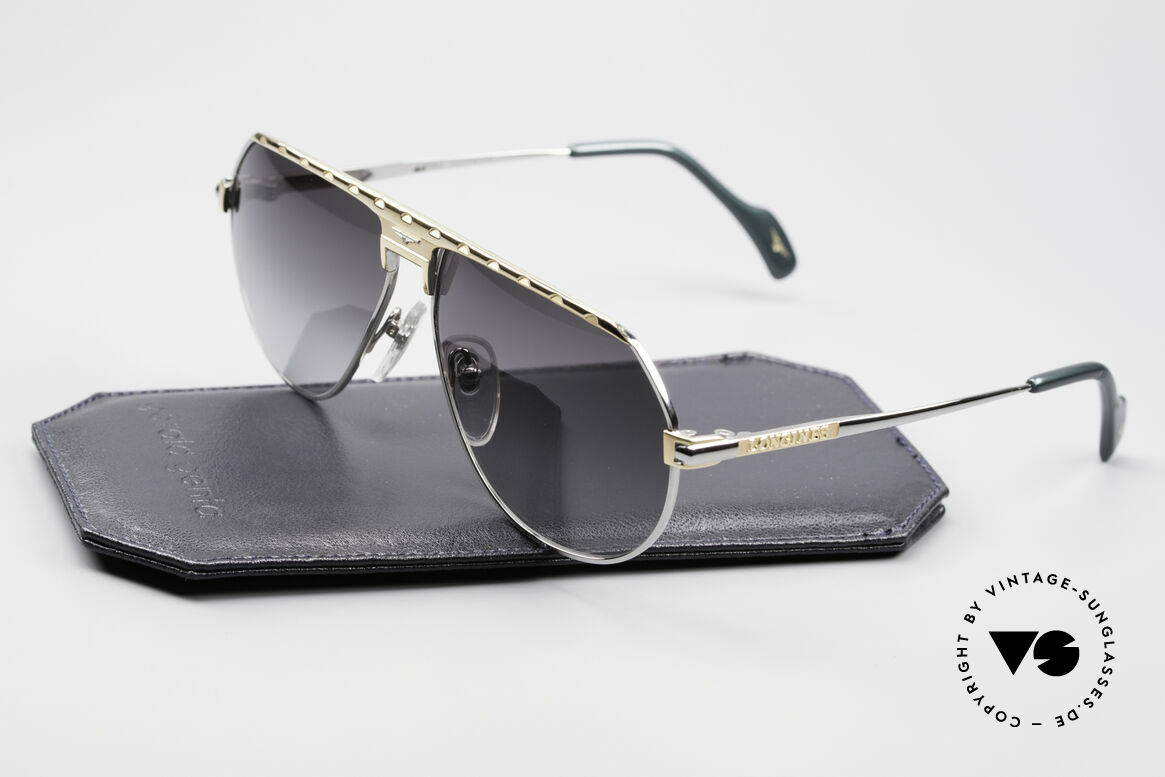 Longines 0151 Rare Titanium 80's Sunglasses, noble frame coloring (gentlemen like); truly vintage, Made for Men