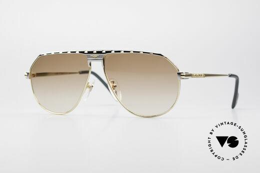 Longines 0151 Large 80's Titanium Sunglasses Details