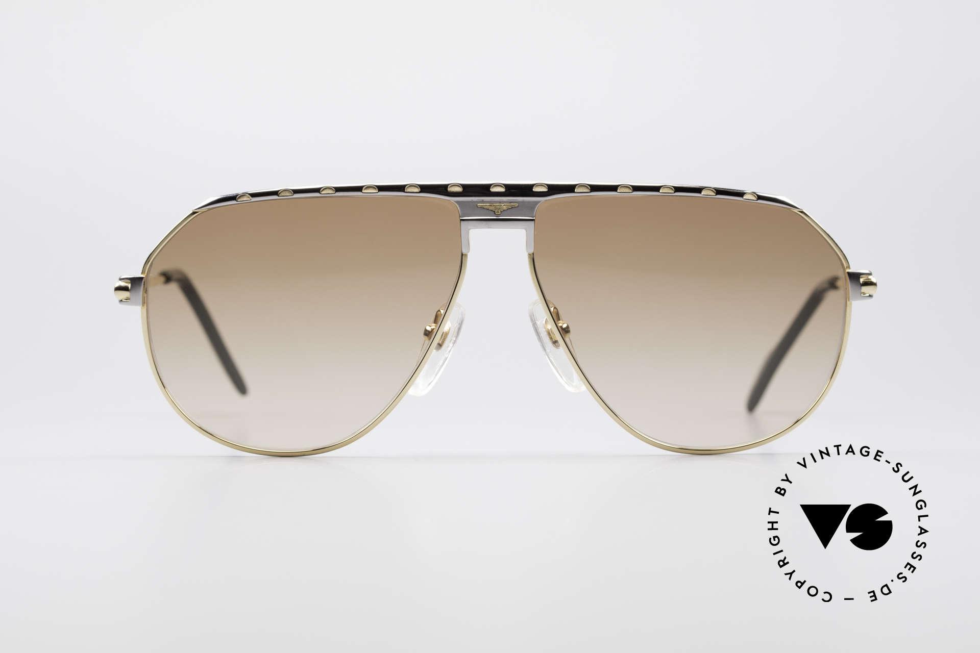 Longines 0151 Large 80's Titanium Sunglasses, high-class craftsmanship & very masculine design, Made for Men