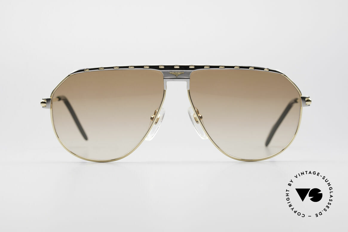 Longines 0151 Large 80's Titanium Sunglasses, high-class craftsmanship & very masculine design, Made for Men
