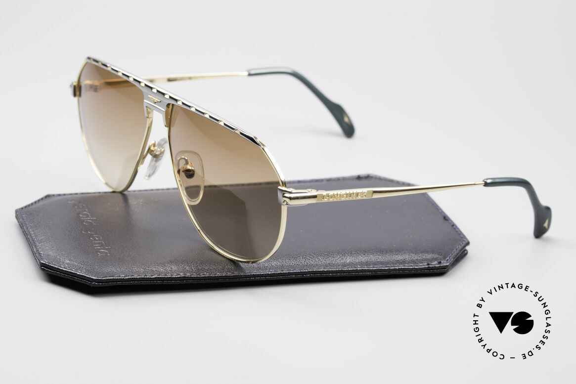 Longines 0151 Large 80's Titanium Sunglasses, noble frame coloring (gentlemen like); truly vintage, Made for Men
