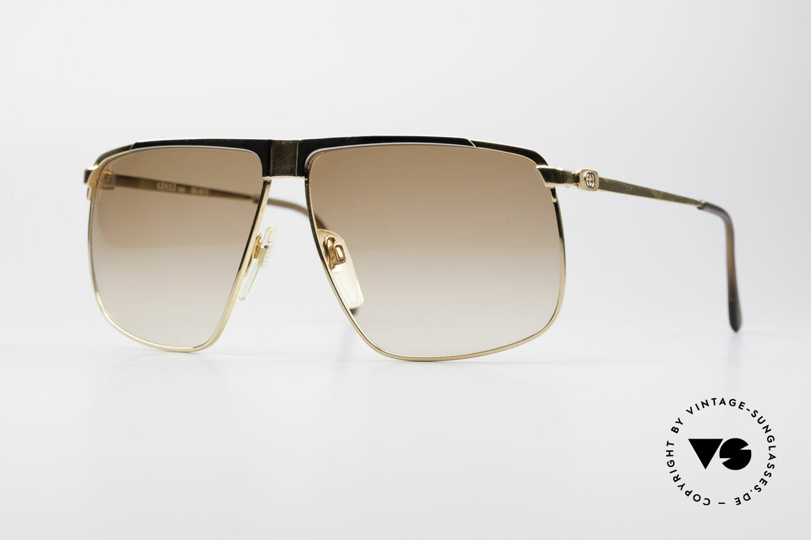 Gucci GG40 22kt Gold-Plated Sunglasses