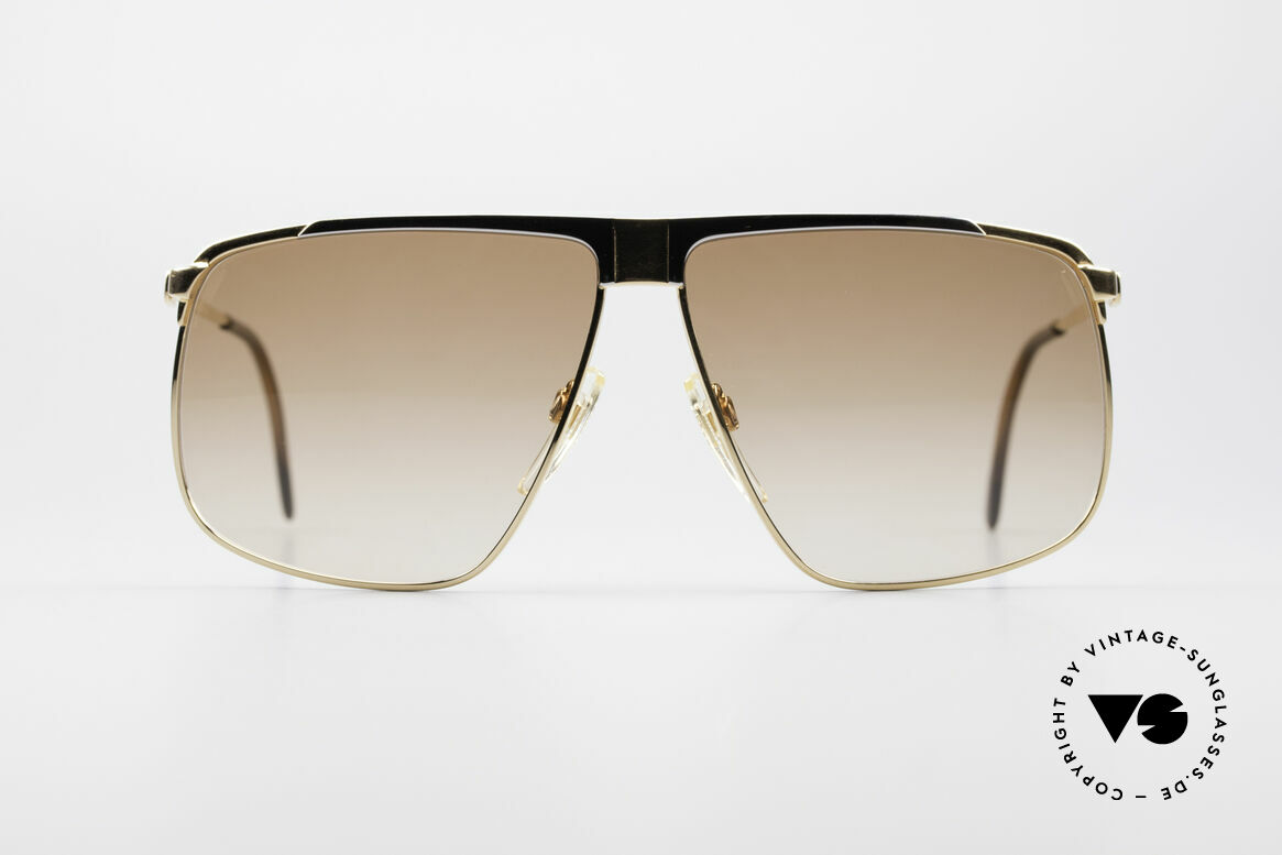 Gucci GG40 22kt Gold-Plated Sunglasses, the most wanted vintage 80's sunglasses by GUCCI, Made for Men