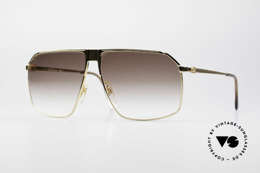 Gucci GG41 22kt Gold-Plated Sunglasses Details