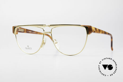 Gucci 2320 Luxury Designer Glasses 80's Details