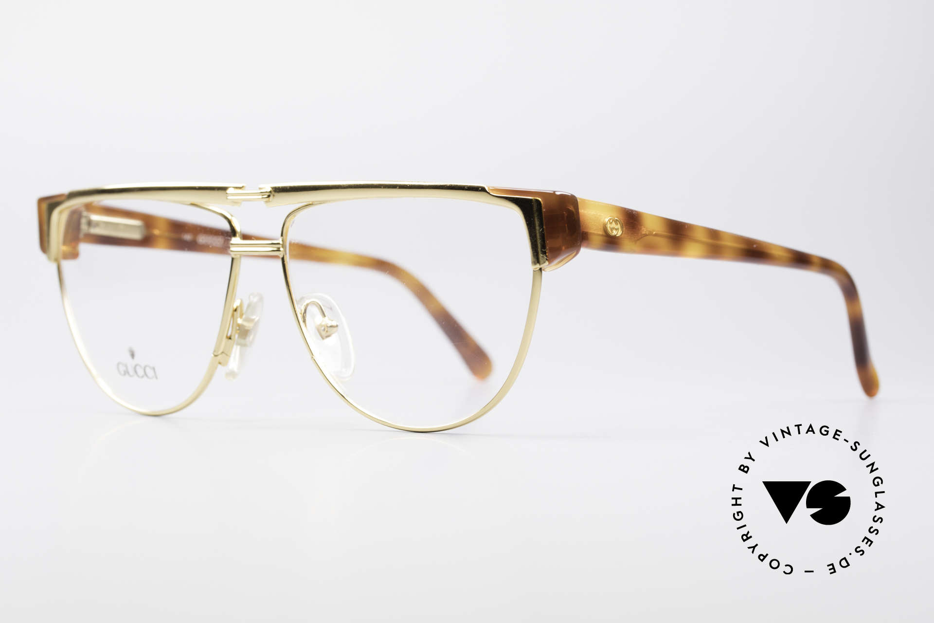 Gucci 2320 Luxury Designer Glasses 80's, a truly rare masterpiece of the late 1980's from Italy, Made for Men and Women