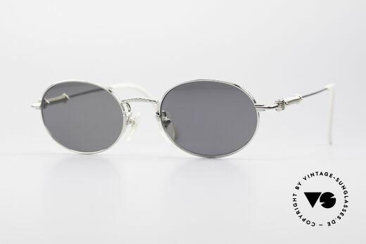 Jean Paul Gaultier 55-6101 Polarized Oval Sunglasses Details